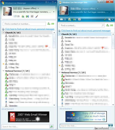 Windows Live Messenger 8 5 Windows Live 8 5 a Full Sin